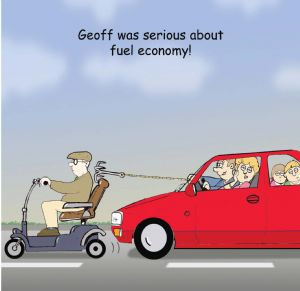 TW355 – Fuel Economy Birthday Card